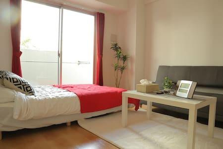 Cleanliness☆at Namba Osaka 3bed for 6Pax+WIFI TV - Ōsaka-shi - Apartemen