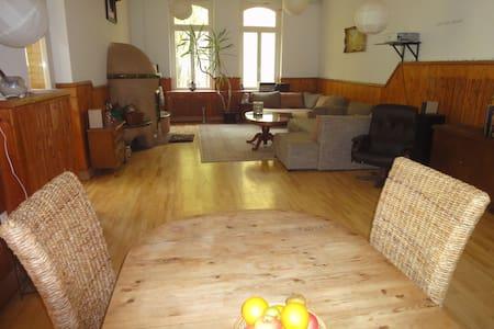 Leben in einer Villa mit Kamin am Weltkulturerbe - Kassel - Apartment