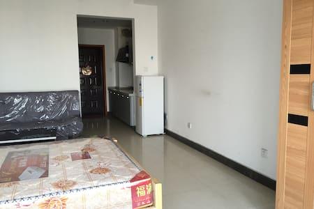 是紧邻湖南株洲红旗广场的公寓房,面积43平米,配置了床/沙发/ - Zhuzhou