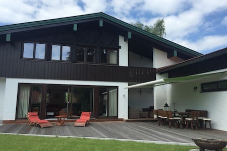 Private Villa Seehof (bis 8 Pers.) - Schliersee - House