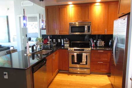 A Lux 1/1.5 condo in DT with large Balcony - Condominium