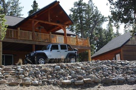 Peaceful Mountain Retreat with AMAZING Views - Fairplay - Cabaña