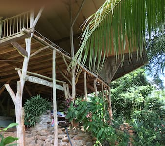 Hostel Cascada Verde at the Waterfall - Uvita