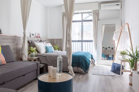 New Studio near Metro,Train&Museums - Madrid - Appartement