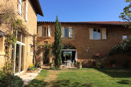 loft ambiance bois - Pouilly-le-Monial