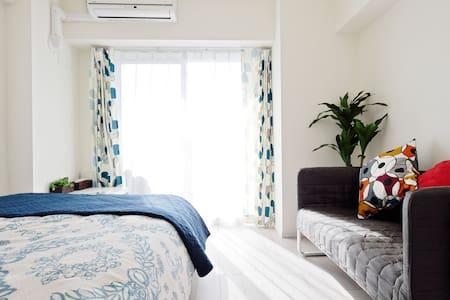 Namba 7min/Free pocket wifi Ⅷ - Apartment