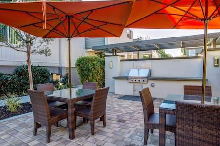 Private room near Stanford, Facebook, Google - Palo Alto - Lejlighed