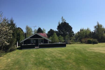 Sommerhus i naturskønne omgivelser på Møn - Stege - Kabin