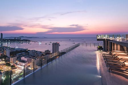 1 BR Stylish Apartment in Central Pattaya - Pattaya - Flat