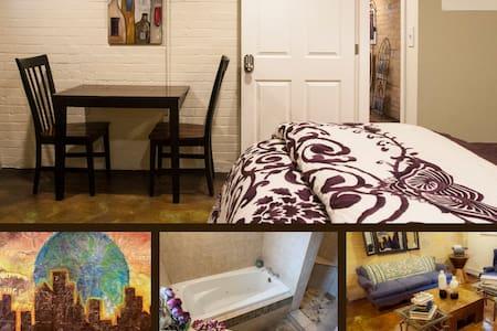 Full Room, Lovely Basement Apt. - Salt Lake City - Hus