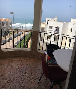 Location Appartement 120m vue sur mer Dar Bouazza - Apartmen