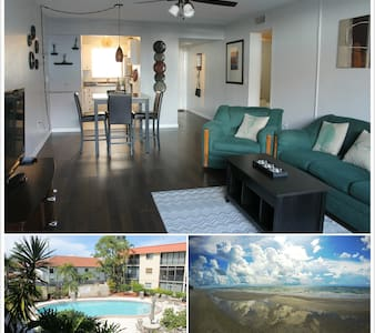 Beautiful, exclusive apt with heated pool on lake - Seminole - Appartement