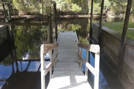 Fisherman's Dream- Waterfront Haven - Yankeetown - Casa