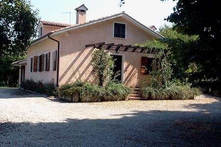 Romantica casetta nel bosco del Montello - Crocetta del Montello - Rumah