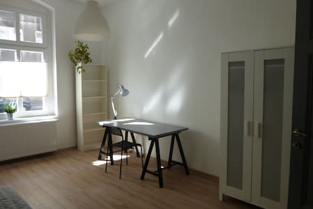 Spacy bedroom for two in Gliwice - Apartment