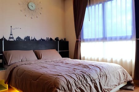 Riverview condo BTS+WiFi+5mins mall - Wohnung