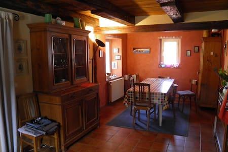 maison alsacienne de village - Rumah