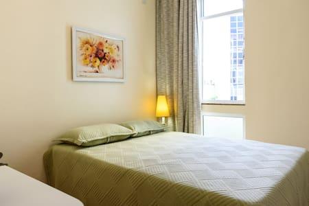 Qto/RM 3x4m bath/banho priv, double bed - Rio de Janeiro - Apartment