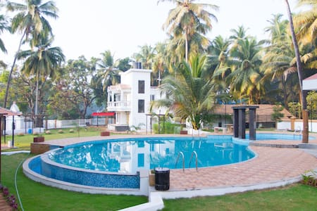 GOAgaga-Near Club Cabana/Baga beach in New Complex - Apartamento