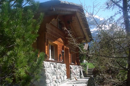 Cosy Chalet with mountain view - Huis