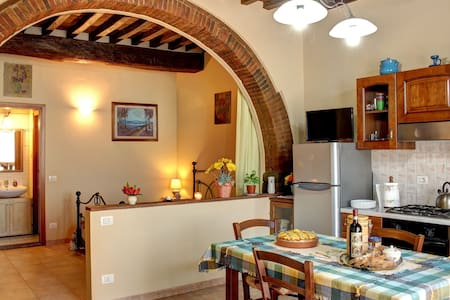 Typical apartment in the Chianti. - Ponte Agli Stolli - Apartamento