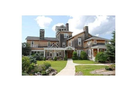 Thousand Island Mansion on the St. Lawrence River - Casa