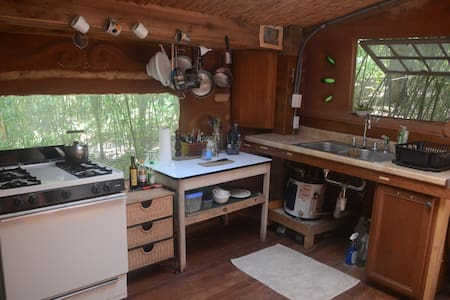 Private Cabin in Intentional Community&Ecovillage - Summertown - Lepianka
