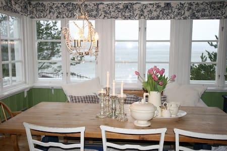 Koselig hytte på stranden - Holmsbu - Stuga