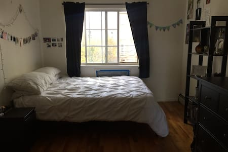 Quiet, bright room in 3BR apt w/ private en suite - Brooklyn