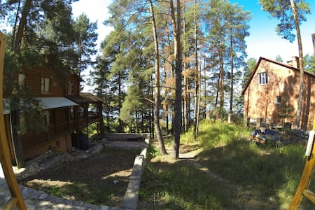 House on forest camping - Dom