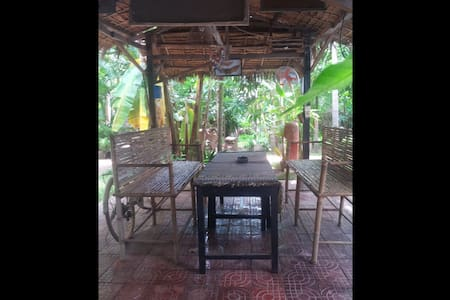 Small Friendly Resort with Garden - Krong Siem Reap - Apartment
