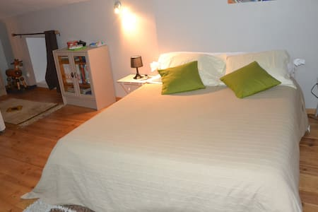 Chambre mansardée 20 m2 dans le Parc du Pilat 42 - Pavezin - Huis
