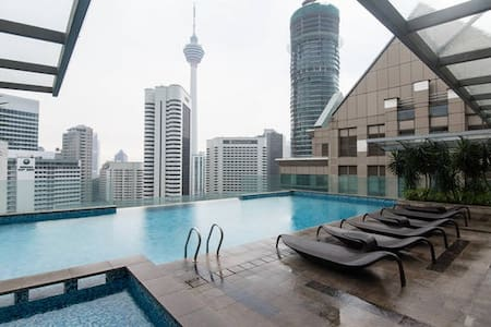Fraser place is a hotel managed residence within walking distance to Klcc and bukit bintang shopping area