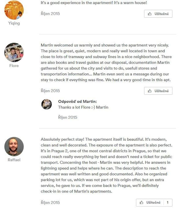 Testimonials - we had to make new account due to merge with other reservation network