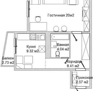 Однокомнатная квартира - Appartamento