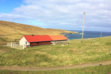 Secluded, romantic cottage 1 dbl bedroom + boxbed - Shetland Islands - Dům