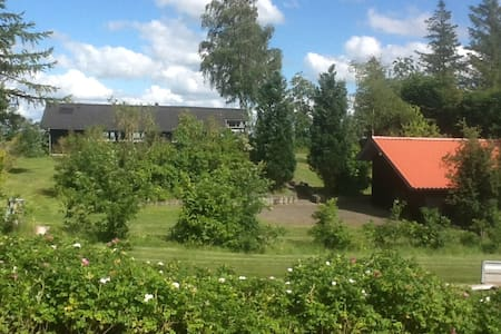Nyrenoveret sommerhus med en fantastisk udsigt. - Højslev