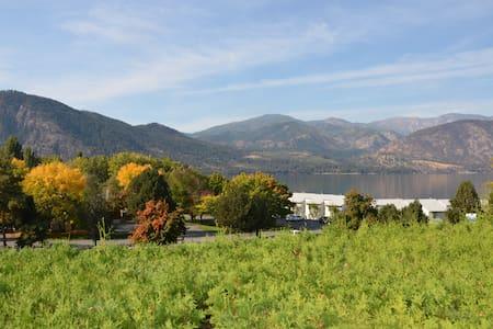 Lakefront Condo with gorgeous views of Lake Chelan - Manson - Appartement en résidence