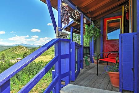 'Chalet in the Clouds' - 2BR Pagosa Springs Cabin - Apartment