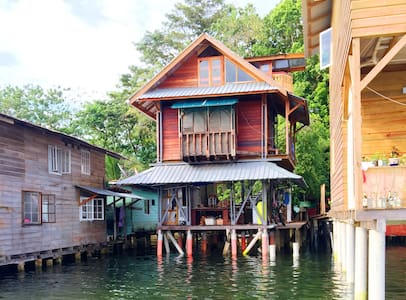 Artist's House on the Sea - Bocas del Toro Isla Colon