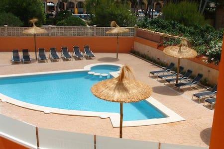 Apart. JAZMIN 303 con piscina,aacc - Cala Agulla - Apartment