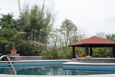 Amazing House in Tepoztlán with Pool and Jaccuzzi. - Tepoztlán - Rumah