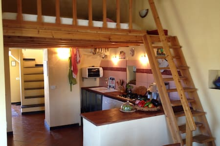 Rustico mit Meerblick - Rumah