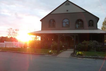 Ossipee Lake, views, pool, sunsets. - House