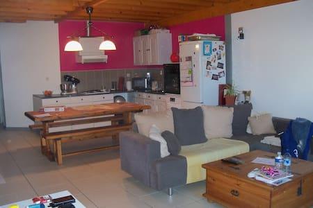 Charmant appartement avec jardin privé - Saint-Albin-de-Vaulserre - Huoneisto