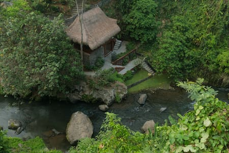 The Hermitage RiverJoglo @ Wu Wei Wisdom Sanctuary - Ubud - House