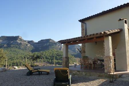 Casa con criterios bioclimaticos en Capafonts - Haus