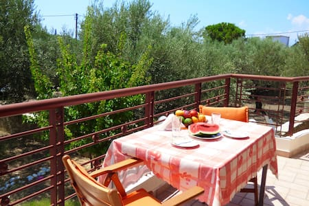 Luxury apartment with yard,150m from the seaside - Apartment