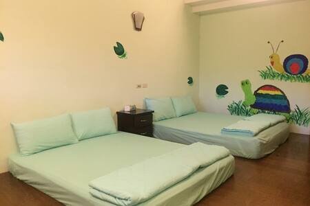 欣綠池畔屋-四人房-花蓮光復濕地 - Guangfu Township - Apartment