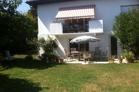 Appart T1 dans villa avec jardin proche Biarritz - Anglet - Leilighet